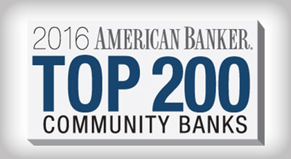 top 200 bank award