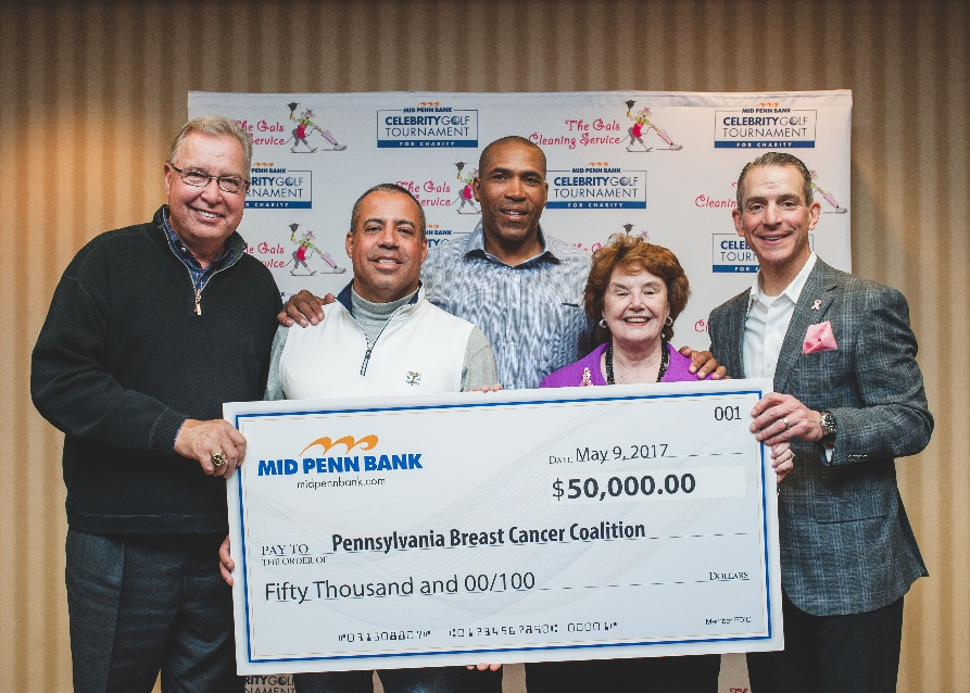 Donation to PA Breast Cancer Coalition