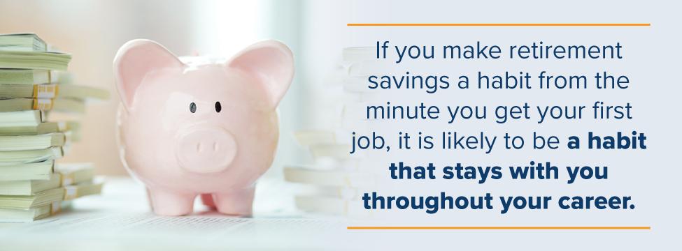 Make retirement saving a habit