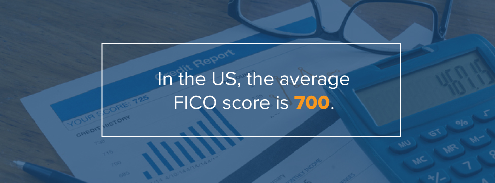 Average US FICO Score