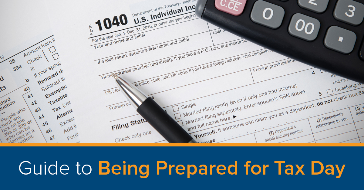 Guide to being prepared for tax day