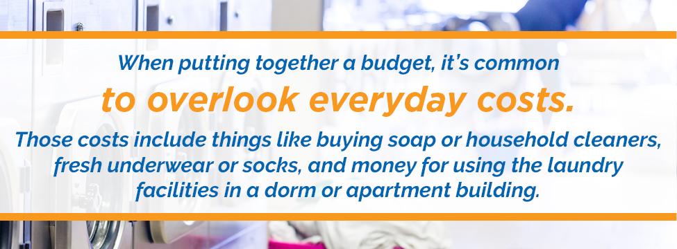 Everyday Costs