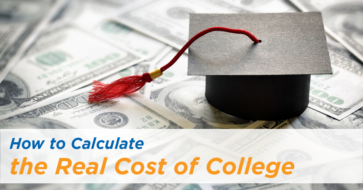 How to Calculate the Real Cost of College - FB