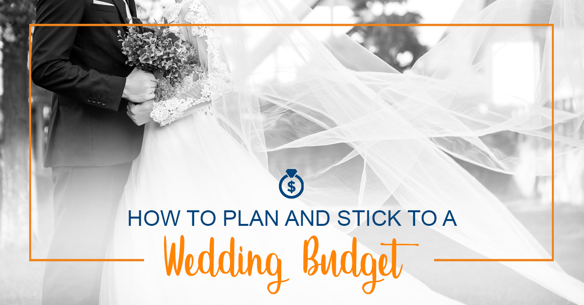 How to stick to a wedding budget
