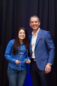 Kayla Coughnour Wave Award Rory Ritrievi