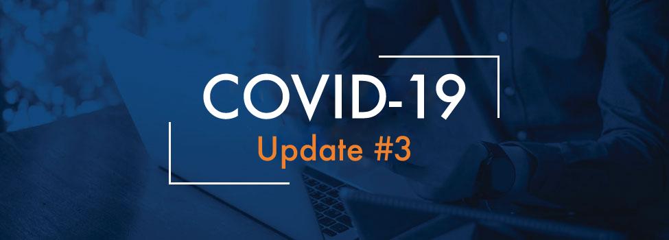 COVID-19 UPDATE 3